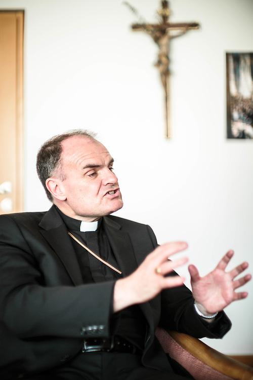 05 MAY 2016 - Bolzano - Ivo Muser, vescovo di Bolzano.