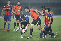 August 27, 2017 - Beijing, Beijing, China - Beijing, CHINA-27th August 2017: (EDITORIAL USE ONLY. CHINA OUT)..The Beijing Renhe Football Club defeats Qingdao Huanghai 3-0 at the China League in Beijing, August 27th, 2017. (Credit Image: © SIPA Asia via ZUMA Wire)
