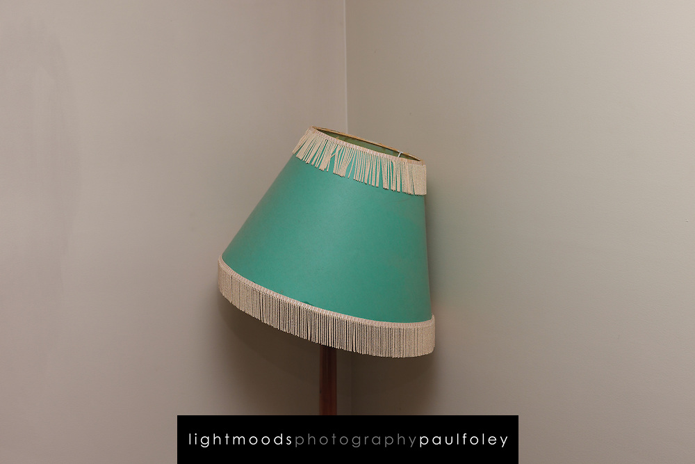 Old Lampshade in corner of Room