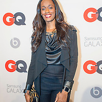 Swim Cash posing at the GQ & Lebron James NBA All Star Style party sponsored by Samsung Galaxy on Saturday, February 15, 2014, at the Ogden Museum of Southern Art in New Orleans, Louisiana with live jam session from grammy Award-winning Artist The Roots. Photo Credit: Gustavo Escanelle / Retna Ltd.