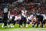 Houston Texans Quarterback Deshaun Watson (4) in action during the International Series match between Jacksonville Jaguars and Houston Texans at Wembley Stadium, London, England on 3 November 2019.