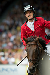 iWathelet Gregory, (BEL), Conrad de Hus<br /> Individual Final Competition round <br /> FEI European Championships - Aachen 2015<br /> © Hippo Foto - Jon Stroud<br /> 23/08/15