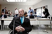 Wiesbaden | 11 May 2015<br /> <br /> NSU Untersuchungsausschuss Hessischer Landtag, 20. Sitzungstag, hier: Der ehemalige Verfassungsschutz-Mitarbeiter Andreas Temme vor seiner Aussage.<br /> <br /> &copy;peter-juelich.com<br /> <br /> [Foto honorarpflichtig | Fees Apply | No Model Release | No Property Release]