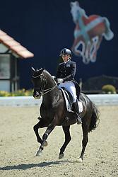 Van Kemenade-Witlox Mirelle, (NED), Decor Just Royal Dancer<br /> Qualification Grand Prix Special<br /> Horses & Dreams meets Denmark - Hagen 2016<br /> © Hippo Foto - Stefan Lafrentz