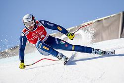 24.01.2020, Streif, Kitzbühel, AUT, FIS Weltcup Ski Alpin, SuperG, Herren, im Bild Emanuele Buzzi (ITA) // Emanuele Buzzi of Italy in action during his run for the men's SuperG of FIS Ski Alpine World Cup at the Streif in Kitzbühel, Austria on 2020/01/24. EXPA Pictures © 2020, PhotoCredit: EXPA/ Johann Groder