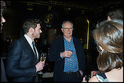 JIM BROADBENT, Party to celebrate Vanity Fair's very British Hollywood issue. Hosted by Vanity Fair and Working Title. Beaufort Bar, Savoy Hotel. London. 6 Feb 2015