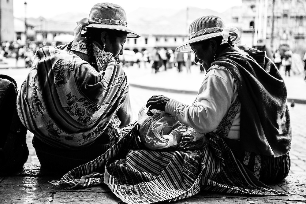 Where: Town square, Cuzco, Peru.<br />