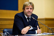 Rome oct 6th 2015, Democratic Party presents a law on sports' education and culture. In the picture Francesco Soro