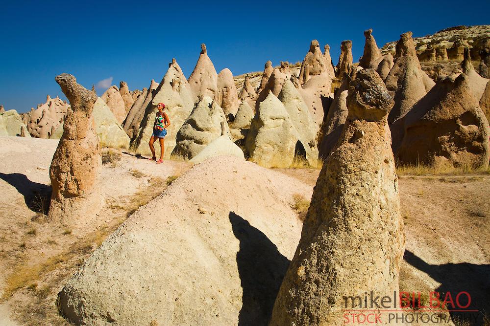 Fairy chimneys in Devrent Valley.Cappadocia, Turkey.
