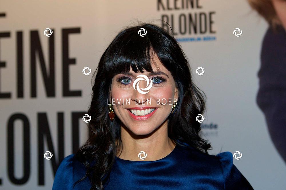 DEN HAAG - De premiere van 'De Kleine Blonde Dood'. Met hier op de foto  Sandra Schuurhof. FOTO LEVIN DEN BOER - PERSFOTO.NU