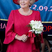 NLD/Amsterdam/20120922 - Koningin Beatrix opent het Vernieuwde Stedelijk Museum , Koningin Beatrix