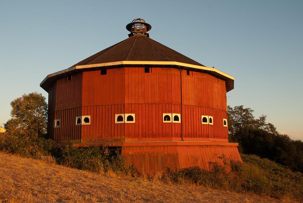 The Fountaingrove Round Barn, built in 1899  by John Clark Lindsay.
