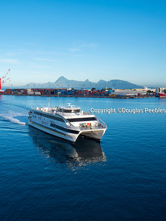 Moorea Ferry, Papeete, French Polynesia, South Pacific