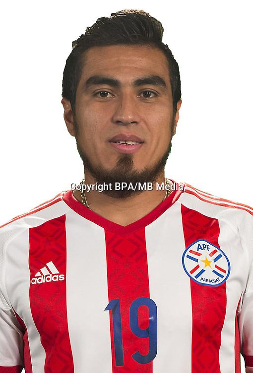 Football Conmebol_Concacaf - <br />Copa America Centenario Usa 2016 - <br />Paraguay National Team - Group A - <br />Dario Lezcano,