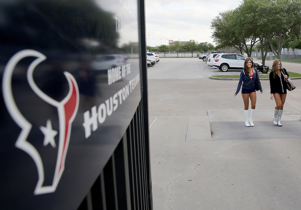 4/16/2014: Fifty girls showed up on April 16, 2014 at the Houston Texans practice facility in Houston, Texas to see which 35 girls made the 2014-2015, Houston Texans Cheerleading Team.