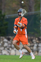05 April 2008: Virginia Cavaliers attackman Danny Glading (9) during a 11-12 OT win over the North Carolina Tar Heels on Fetzer Field in Chapel Hill, NC.