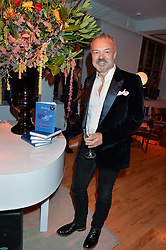 GRAHAM NORTON at a party to celebrate the publication of Holding by Graham Norton held at Liberty, Regent Street, London on 12th October 2016.
