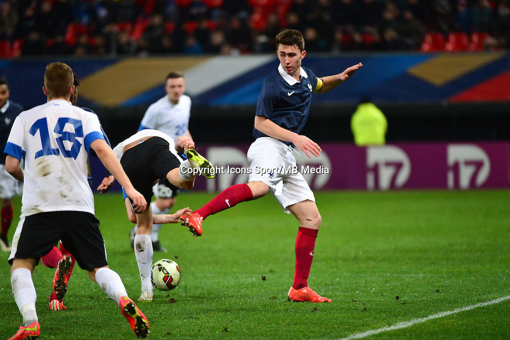 Aymeric LAPORTE - 25.03.2015 - Football Espoirs - France / Estonie - Match Amical -Valenciennes<br /> Photo : Dave Winter / Icon Sport