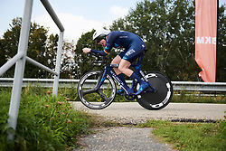 Mieke Kröger (GER) at Boels Ladies Tour 2018 - Stage 6, an 18.6km individual time trial in Roosendaal, Netherlands on September 2, 2018. Photo by Sean Robinson/velofocus.com