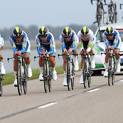 Brainwash Ladiestour Dronten Team Time Trail  2nd Orica-Greenedge