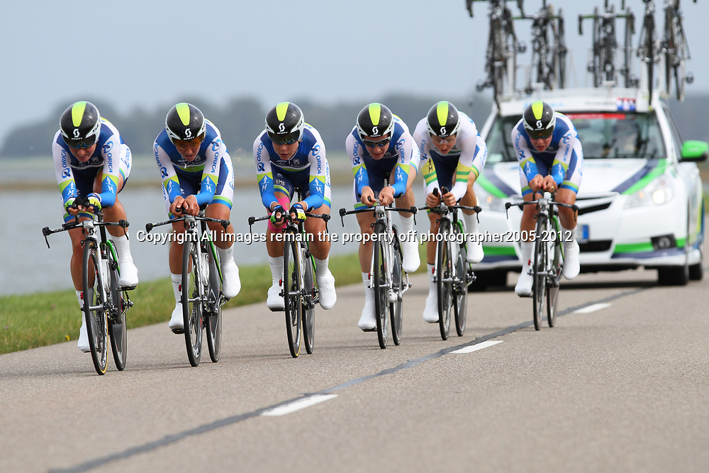 Brainwash Ladiestour Dronten Team Time Trail  2nd Orica-Greenedge