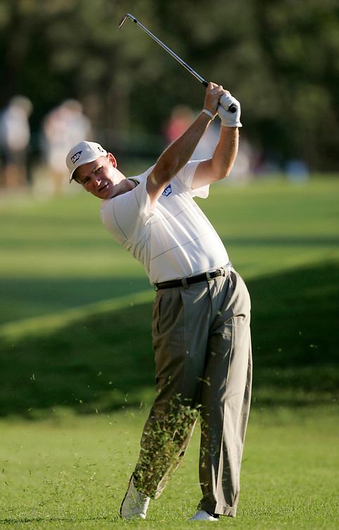 PINEHURST, NORTH CAROLINA - JUNE 16, 2005<br /> Ernie ELS during the 1st Round of the 2005 U.S. Open Championship, held at Pinehurst No.2 in the Village of Pinehurst, North Carolina.