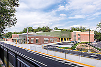 Exterior Image of Bel Pre Elementary Schol in Silver Spring Maryland by Jeffrey Sauers of Commercial Photographics, Architectural Photo Artistry in Washington DC, Virginia to Florida and PA to New England