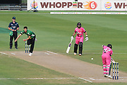 Northern Knights Tim Seifert plays a shot during the Burger King Super Smash T20 cricket match between the Central Stags and the Northern Knights, McLean Park, Napier, Friday, January 25, 2019. Copyright photo: Kerry Marshall / www.photosport.nz
