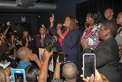 Letitia James celebrates her win of the Democratic primary for the Attorney General at the Milk River Lounge at 960 Atlantic Ave in Prospect Heights, Brooklyn. **NO NEW YORK DAILY NEWS, NO NEW YORK TIMES, NO NEWSDAY**. 13 Sep 2018 Pictured: Letitia James celebrates her win of the Democratic primary for the Attorney General at the Milk River Lounge at 960 Atlantic Ave in Prospect Heights, Brooklyn . Photo credit: William Miller/NY Post/MEGA TheMegaAgency.com +1 888 505 6342