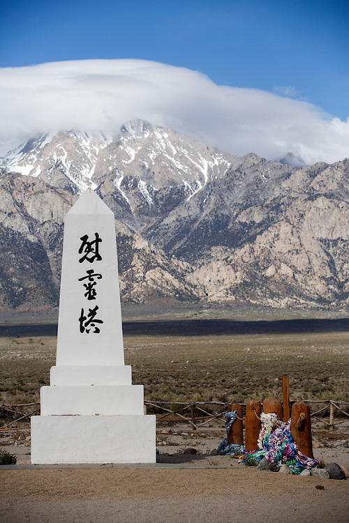 TKTK at the Manzanar National Historic Site during the 47th Annual Manzanar Pilgrimage on Saturday, April 30, 2016 in the Owens Valley of Inyo County, Calif. Now a National Historic Site, the Manzanar War Relocation Center was one of ten camps where Japanese American citizens and resident Japanese aliens were interned during World War II. Photo by Patrick T. Fallon / Special to the National Parks Conservation Association
