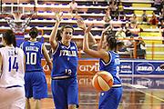 DESCRIZIONE : Elettra Pescara Giochi del Mediterraneo 2009 Mediterranean Games Italia Grecia Italy Greece Semifinal Women<br /> GIOCATORE : Raffaella Masciadri<br /> SQUADRA : Italia Italy<br /> EVENTO : Elettra Pescara Giochi del Mediterraneo 2009<br /> GARA : Italia Grecia Italy Greece<br /> DATA : 30/06/2009<br /> CATEGORIA : esultanza<br /> SPORT : Pallacanestro<br /> AUTORE : Agenzia Ciamillo-Castoria/C.De Massis