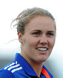 England's Natalie Sciver - Photo mandatory by-line: Harry Trump/JMP - Mobile: 07966 386802 - 21/07/15 - SPORT - CRICKET - Women's Ashes - Royal London ODI - England Women v Australia Women - The County Ground, Taunton, England.