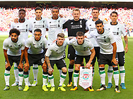 Liverpool team photo during the Pre-season Friendly match at the Aviva Stadium, Dublin<br /> Picture by Yannis Halas/Focus Images Ltd +353 8725 82019<br /> 05/08/2017