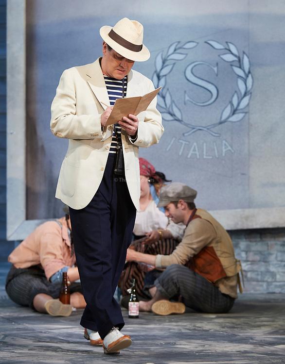 23nd June 2017.Il Turco in Italia, Rossini  at Garsignton Opera. <br /> <br /> Prosdocimo - Mark Stone