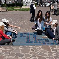 Campaign Slotmob against gambling in Rome