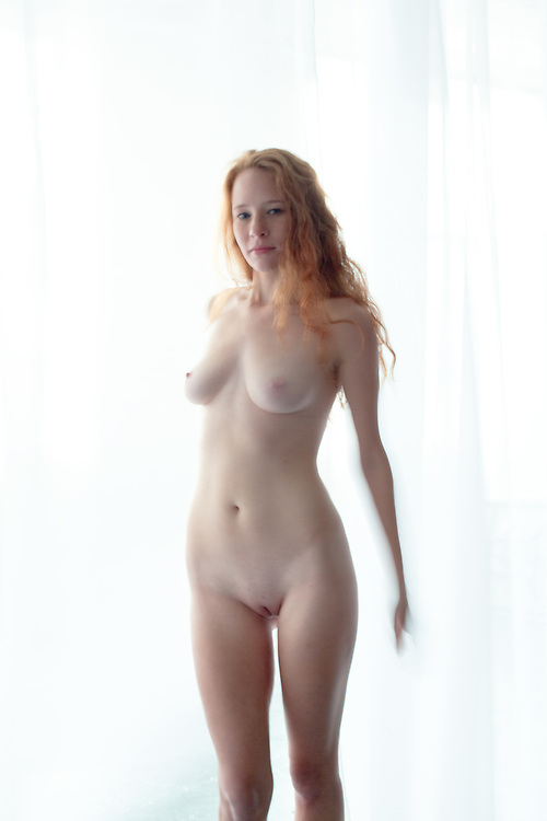 Natural Redhead Teen Model Pale 34