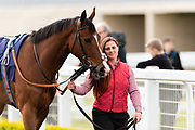 Spanish Star ridden by Liam Keniry and trained by Patrick Chamings in the F45 Bath No Contract Required Handicap race.  - Ryan Hiscott/JMP - 06/05/2019 - PR - Bath Racecourse- Bath, England - Kids Takeover Day - Monday 6th April 2019