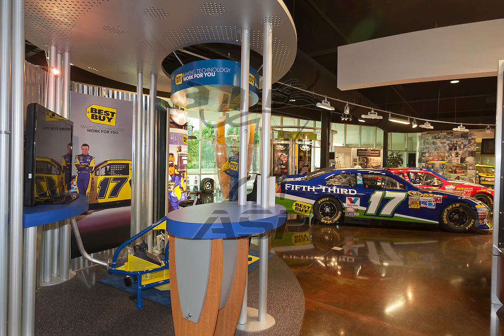 CONCORD, NC - JUN 03, 2012:  The Roush Fenway Racing World Headquarters in Concord, NC.