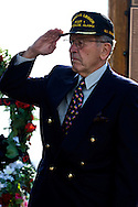 Senator Ted Stevens at 2005 Memorial Day Celebration in Anchorage, Alaska