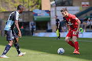 Reece Thompson during the Sky Bet League 2 match between Wycombe Wanderers and York City at Adams Park, High Wycombe, England on 8 August 2015. Photo by Simon Davies.