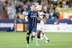 29.09.2012, Stade de Parc des Princes, Paris, FRA, Ligue 1, Paris St. Germain vs FC Sochaux, 7. Runde, im Bild KEVIN GAMEIRO (PARIS SAINT-GERMAIN) // during the French Ligue 1 7th round match between Paris St. Germain and FC Sochaux at the Stade de Parc des Princes, Paris, France on 2012/09/29. EXPA Pictures © 2012, PhotoCredit: EXPA/ PicAgency Skycam/ Chris Elise..***** ATTENTION - OUT OF SWE *****