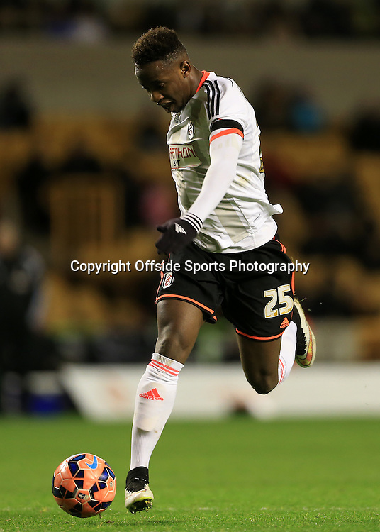 13th January 2015 - FA Cup - 3rd Round Replay - Wolverhampton Wanderers v Fulham - Moussa Dembele of Fulham - Photo: Simon Stacpoole / Offside.