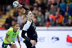 Katarina Bulatovic of Rostov-Don during handball match between RK Krim Mercator and Rostov-Don in Main Round of Women's EHF Champions League 2017/18, on March 3, 2018 in Sports hall Kodeljevo, Ljubljana, Slovenia. Photo by Urban Urbanc / Sportida