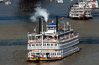 The Belle of Louisville during the Tall Stacks Celebration