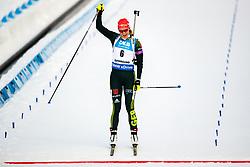 March 10, 2019 - –Stersund, Sweden - 190310 Denise Herrmann of Germany crosses the finish line during the Women's 10 km Pursuit during the IBU World Championships Biathlon on March 10, 2019 in Östersund. 10, 2019 in Östersund..Photo: Johan Axelsson / BILDBYRÃ…N / Cop 245 (Credit Image: © Johan Axelsson/Bildbyran via ZUMA Press)