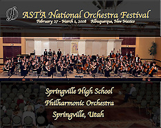 Springville High School Philharmonic Orchestra