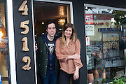 Brigid Flood and Peter Nehring - owners at Hollywood Babylon in Portland, Oregon