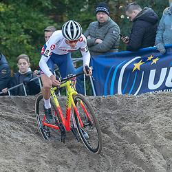 04-11-2018: Wielrennen: EK veldrijden: Rosmalen<br />Thomas Pidcock (GB) wins European cyclocross title men U23 in Rosmalen
