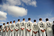 Back of the County Championship kit during the Somerset County Cricket Club PhotoCall 2017 at the Cooper Associates County Ground, Taunton, United Kingdom on 5 April 2017. Photo by Graham Hunt.