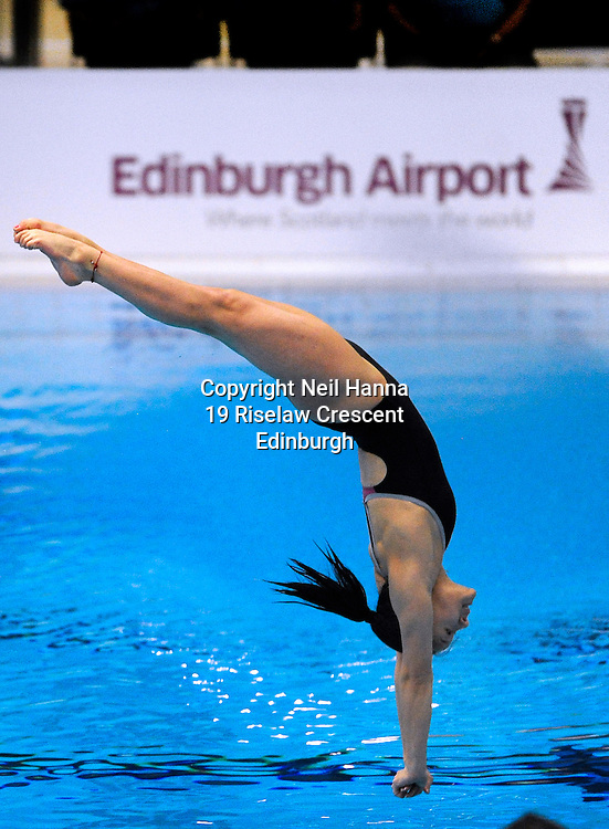 Scottish National Diving Championships & Thistle Trophy 2015<br /> <br /> Free to use <br /> <br /> Royal Commonwealth Pool, Edinburgh<br /> Women's 1M Final<br /> <br /> Millie Haffety of City of Sheffield won the Junior Open during todays competition.<br /> <br />  Neil Hanna Photography<br /> www.neilhannaphotography.co.uk<br /> 07702 246823